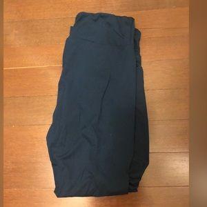 Lularoe TC Dark Blue (Aegean on chart) leggings